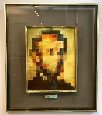 Tiled Lincoln, Salvador Dalí